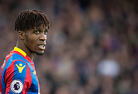 Wilfried Zaha of Crystal Palace during the Premier League match between Crystal Palace and Manchester City at Selhurst Park, London, England on 31 December 2017. Photo by Andy Rowland.