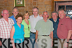 Jim Greany, Patie White, Maecella O'Gready, Patsy O'Connor, John Moran Joe McGrath and Mike Curnnane, who organised the benefit dance in aid of the Greaney family at the Knockdown Arms Bar Athea on Friday night. .   Copyright Kerry's Eye 2008