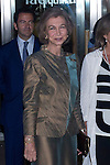 09.10.2012. Queen Sofia of Spain attends concert in Ainhoa Arteta at the Teatros del Canal in Madrid, Spain. In the image Queen Sofia (Alterphotos/Marta Gonzalez)