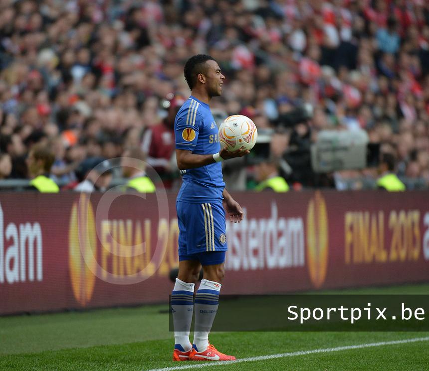Benfica Lissabon - Chelsea FC : Ashley Cole.foto DAVID CATRY / Nikonpro.be
