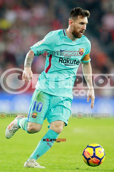 FC Barcelona's Leo Messi during La Liga match. October 28,2017. (ALTERPHOTOS/Acero) /NortePhoto.com