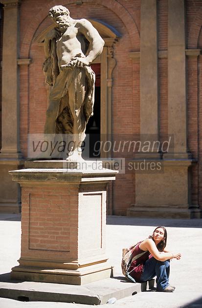 Europe/Italie/Emilie-Romagne/Bologne : Palais Boggi siège de l'université