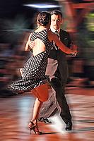Gabriel Marino and Fatima Vitale dancing Argentine Tango