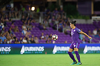 Orlando, FL - Saturday September 02, 2017: Ali Krieger during a regular season National Women's Soccer League (NWSL) match between the Orlando Pride and the Boston Breakers at Orlando City Stadium.