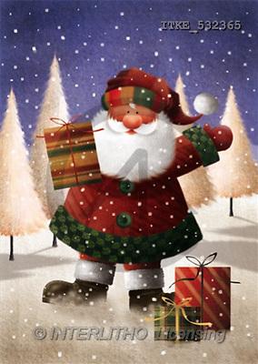 Isabella, CHRISTMAS SANTA, SNOWMAN, paintings(ITKE532365,#X#) Weihnachtsmänner, Schneemänner, Weihnachen, Papá Noel, muñecos de nieve, Navidad, illustrations, pinturas