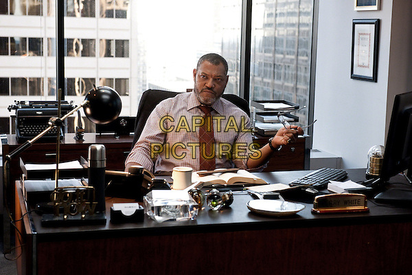 Laurence Fishburne<br /> in Man of Steel (2013) <br /> *Filmstill - Editorial Use Only*<br /> CAP/NFS<br /> Image supplied by Capital Pictures