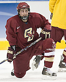 Brock Bradford - The Boston College Eagles practiced on Wednesday, April 5, 2006, at the Bradley Center in Milwaukee, Wisconsin, in preparation for their 2006 Frozen Four Semi-Final game against the University of North Dakota.