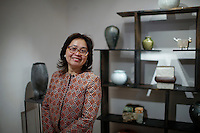 Portrait of Beatrice Lei Chang at her gallery during the Asian Art Week in New York. 11.03.2015. Eduardo MunozAlvarez/VIEWpress.