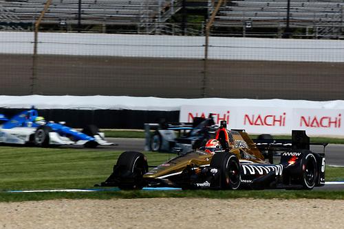 12-14 May, 2016, Indianapolis, Indiana USA<br /> James Hinchcliffe<br /> ©2016, Phillip Abbott<br /> LAT Photo USA