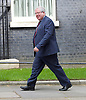 Downing Street after meetings at The House of Commons to appoint new government ministers<br /> 11th May 2015 <br /> <br /> new cabinet ministers arriving or leaving 10 Downing Street <br /> <br /> Patrick McLoughlin <br /> Secretary of State for Transport <br /> Conservative MP for Derbyshire Dales <br /> <br /> <br /> Photograph by Elliott Franks <br /> Image licensed to Elliott Franks Photography Services
