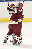 Mike Brennan, Joe Rooney - The Boston College Eagles defeated the Boston University Terriers 5-0 on Saturday, March 25, 2006, in the Northeast Regional Final at the DCU Center in Worcester, MA.