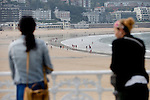 Daily life San Sebastian (North Spain) during the 62st San Sebastian Film Festival. September 26, 2014. (ALTERPHOTOS/Caro Marin)