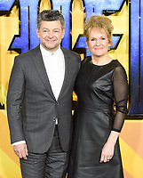 """Andy Serkis<br /> arriving for the """"Black Panther"""" premiere at the Hammersmith Apollo, London<br /> <br /> <br /> ©Ash Knotek  D3376  08/02/2018"""