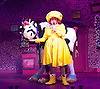 Jack and the Beanstalk <br /> by Tom Wells<br /> at the Lyric Hammersmith, London, Great Britain <br /> Press photocall<br /> 28th November 2013 <br /> <br /> Howard Ward as Maureen Drip <br /> <br /> Joshua Tonks as Jill<br /> <br /> Steven Webb as Sprout <br /> <br /> Nigel Richards as Mr Fleshcreep<br /> <br /> Rochelle Rose as Jack <br /> <br /> Hannah Scarlett and Serephina Beh as Caroline the Cow<br /> <br /> <br /> Photograph by Elliott Franks