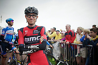 Tejay Van Garderen (USA/BMC) at the start<br /> <br /> 2014 Tour de France<br /> stage 2: York-Sheffield (201km)