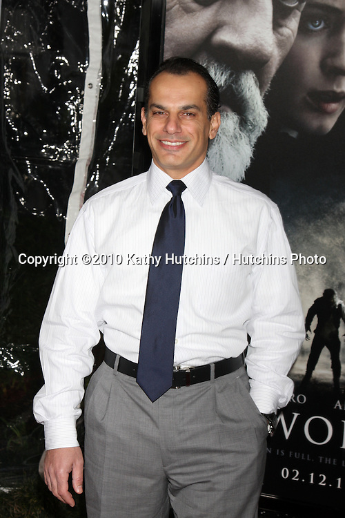 Said Faraj.arrivng at the premiere of The Wolfman..Arclight Hollywood.Los Angeles, CA.February 9, 2010.©2010 Kathy Hutchins / Hutchins Photo....