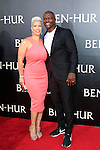 LOS ANGELES - AUG 16: Rebecca Crews, Terry Crews at the premiere of Ben-Hur at the TCL Chinese Theatre IMAX on August 16, 2016 in Los Angeles, California
