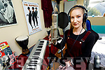 Singer Laura O'Laughlin at her home-studio on Tralee.