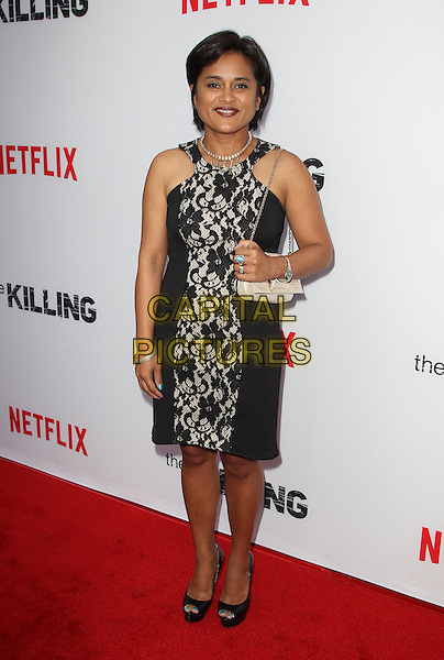 14 July 2014 - Hollywood, California - Veena Sud. Premiere Of Netflix's &quot;The Killing&quot; Season 4 Held at The ArcLight Cinemas. <br /> CAP/ADM/FS<br /> &copy;Faye Sadou/AdMedia/Capital Pictures