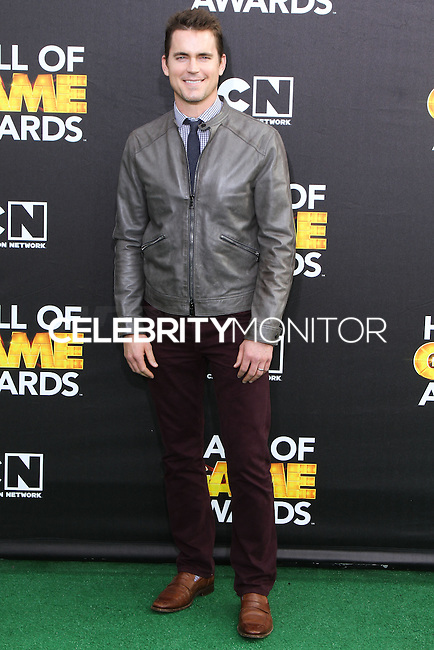SANTA MONICA, CA, USA - FEBRUARY 15: Matt Bomer at the 4th Annual Cartoon Network Hall Of Game Awards held at Barker Hangar on February 15, 2014 in Santa Monica, California, United States. (Photo by David Acosta/Celebrity Monitor)