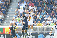 Kansas City, KS. - September 18, 2016: Sporting Kansas City tied L.A. Galaxy 2-2 in a MLS game at Children's Mercy Park.
