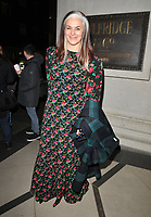Catherine Hayward at the LFW (Men's) a/w 2019 GQ Dinner, Brasserie of Light, Selfridges, Duke Street, London, England, UK, on Monday 07 January 2019.<br /> CAP/CAN<br /> &copy;CAN/Capital Pictures