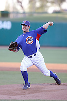 Casey Lambert - AZL Cubs - 2010 Arizona League. Lambert makes his first appearance after his recovery from Tommy John surgery in an Arizona League game against the Angels at Hohokam Stadium, Mesa, AZ - 06/22/2010. Photo by:  Bill Mitchell/Four Seam Images..