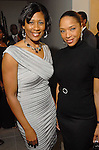 Yolanda Smith and Kicia Carpenter at the NAACP's Hollywood Comes to Houston party at Advantage BMW Thursday  Feb. 12, 2009.(Dave Rossman/For the Chronicle)