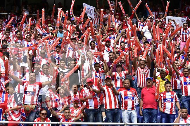 Junior venció como local 2-0 a Atlético Nacional. Fecha 5 Liga Águila II-2017.
