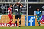 Kevin Müller / Mueller (1. FC Heidenheim 1846 #01), Joshua Sargent (Werder Bremen #19)<br /> <br /> <br /> Sport: nphgm001: Fussball: 1. Bundesliga: Saison 19/20: Relegation 02; 1.FC Heidenheim vs SV Werder Bremen - 06.07.2020<br /> <br /> Foto: gumzmedia/nordphoto/POOL <br /> <br /> DFL regulations prohibit any use of photographs as image sequences and/or quasi-video.<br /> EDITORIAL USE ONLY<br /> National and international News-Agencies OUT.
