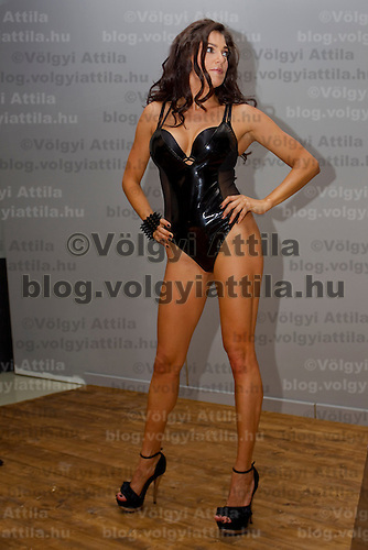 Calendar shooting of Hungarian celebrity Sylvi Bodi Hungary. Tuesday, 06. July 2010. ATTILA VOLGYI