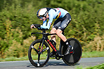Branko Huys of Belgium in action during the Men Junior Individual Time Trial of the UCI World Championships 2019 running 27.6km from Harrogate to Harrogate, England. 23rd September 2019.<br /> Picture: Alex Broadway/SWPix.com | Cyclefile<br /> <br /> All photos usage must carry mandatory copyright credit (© Cyclefile | Alex Broadway/SWPix.com)