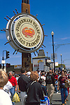 Tourists at Fisherman's Wharf, San Francisco, California