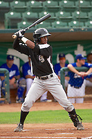 Cesar Galvez (2) of the Grand Junction Rockies at bat against the Ogden Raptors at Lindquist Field on September 8, 2013 in Ogden Utah.  (Stephen Smith/Four Seam Images)