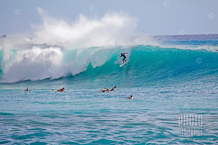 Big south swell at Makena, Maui, Hawaii.