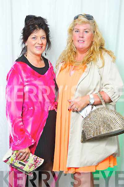 Pictured at the Fashion Show in the Festival Dome on Sunday night, from left: Betty McGrath and Tracy Dowling from Listowel.