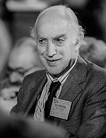 Lord Peart, aka Fred Peart, former MP, Labour Party, UK, October, 1982, 198210000490FP<br /><br />Copyright Image from Victor Patterson, 54 Dorchester Park, <br />Belfast, UK, BT9 6RJ<br /><br />t1: +44 28 9066 1296 (from Rep of Ireland 048 9066 1296)<br />t2: +44 28 9002 2446 (from Rep of Ireland 048 9002 2446)<br />m: +44 7802 353836<br /><br />victorpatterson@me.com<br />victorpattersonbelfast@gmail.com<br /><br />Please see my Terms and Conditions of Use at victorpatterson.com. It is IMPORTANT that you familiarise yourself with them.<br /><br />Images used on the Internet incur an additional cost and must be visibly watermarked i.e. &copy;Victor Patterson within the body of the image and copyright metadata must not be deleted. Images used on the Internet have a size restriction of 4kbs and are chargeable at rates available at victorpatterson.com.<br /><br />This image is available only for the use of the download recipient i.e. television station, newspaper, magazine, book publisher, etc, and must not be passed on to any third party. It is also downloaded on condition that each and every usage is notified within 7 days to victorpatterson@me.com<br /><br />The right of Victor Patterson (or the named photographer) to be identified as the author is asserted in accordance with The Copyright Designs And Patents Act (1988). All moral rights are asserted.