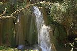 Israel, Parod waterfall in the Upper Galilee