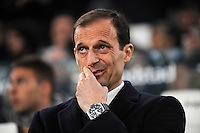 Calcio, semifinale di andata di Tim Cup: Juventus vs Napoli. Torino, Juventus Stadium, 28 febbraio 2017.<br /> Juventus coach Massimiliano Allegri waits for the start of the Italian Cup semifinal first leg football match between Juventus and Napoli at Turin's Juventus stadium, 28 February 2017.<br /> UPDATE IMAGES PRESS/Manuela Viganti