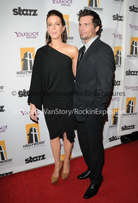Len Wiseman & Kate Beckinsale at The 13th Annual Hollywood Awards Gala held at The Beverly Hilton Hotel in Beverly Hills, California on October 26,2009                                                                   Copyright 2009 DVS / RockinExposures