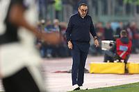 Maurizio Sarri coach of Juventus dejection<br /> Roma 07-12-2019 Stadio Olimpico <br /> Football Serie A 2019/2020 <br /> SS Lazio - Juventus FC<br /> Photo Cesare Purini / Insidefoto