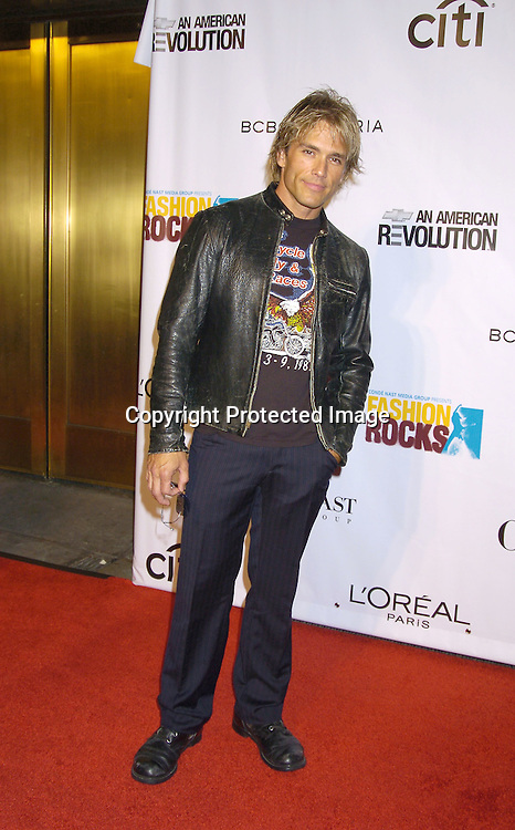 Scott Reeves of the group Blue County ..at the Conde Nast Media Group Fashion Rocks second annual live concert on September 8, 2005 at Radio City Music Hall. ..Photo by Robin Platzer, Twin Images
