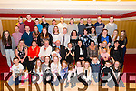 Caoimhe Claffey from Killarney seated in the centre celebrated her confirmation surrounded by family and friends in the Avenue Hotel, Killarney last Friday evening.