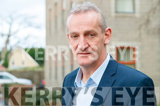 Cllr Mike Kennelly at the Joint Policing Committee meeting at County Buildings, Tralee on Friday.