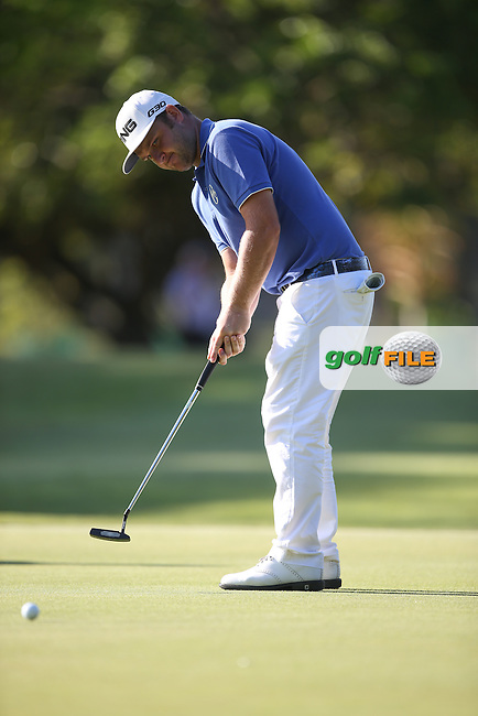 Andy Sullivan (ENG) makes eagle on the 16th during Round Two of the Africa Open 2015 at the East London Golf Club, East London, Eastern Cape, South Africa. Picture:  David Lloyd / www.golffile.ie. 06/03/2015