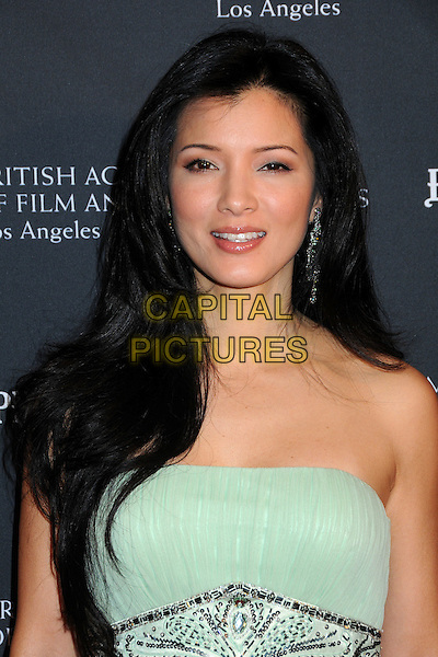 KELLY HU .17th Annual BAFTA Los Angeles Awards Season Tea Party held at the Four Seasons Hotel, Beverly Hills, California, USA, 15th January 2011..portrait headshot  strapless green .CAP/ADM/BP.©Byron Purvis/AdMedia/Capital Pictures.
