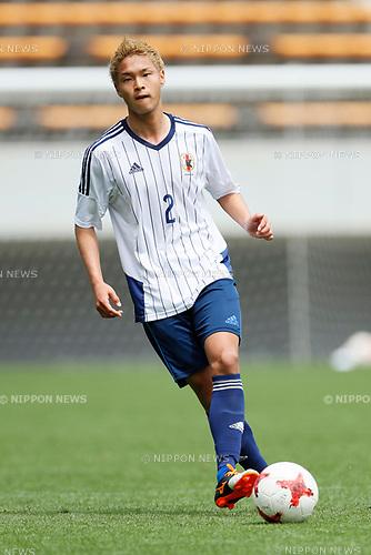 So Fujitani (JPN), <br /> APRIL 18, 2017 - Football / Soccer : <br /> U-20 Japan National team training match <br /> between U-20 - JEF United Chiba <br /> in Chiba, Japan. <br /> (Photo by Yohei Osada/AFLO SPORT)