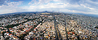 Mexico City Aerial Photography