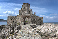 The castle of Methoni in Messinia, Greece