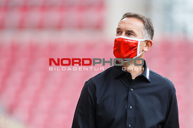 Achim Beierlorzer (Trainer / FSV Mainz 05), <br /> <br /> Sport: Fussball: 1. Bundesliga:: nphgm001:  Saison 19/20: 33. Spieltag: 1. FSV Mainz 05 vs SV Werder Bremen 20.06.2020<br /> Foto: Neis/Eibner/Pool/via gumzmedia/nordphoto<br />